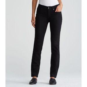 NWT Eileen Fisher Cozy Stretch Skinny Jeans Black